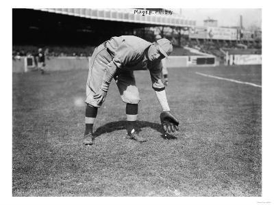 Sherry Magee, Philadelphia Phillies, Baseball Photo No.2 - Philadelphia, PA-Lantern Press-Art Print