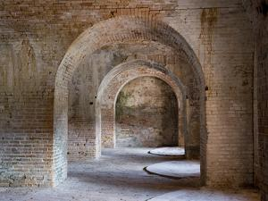 Fort Pickens Was Completed in 1834 and is Part of the Gulf Islands National Seashore in Florida. by Sherry Yates Young