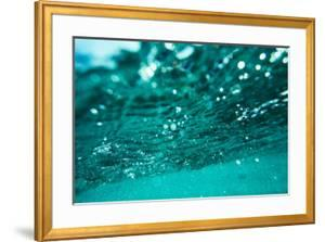 Abstract Underwater Background with Bokeh by shevtsovy