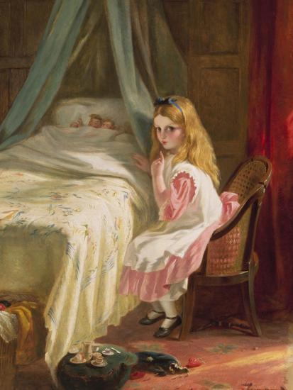 Shhhh!-George Bernard O'neill-Giclee Print