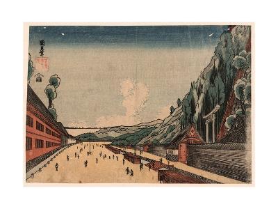 Shiba Atagoyama No Zu--Giclee Print