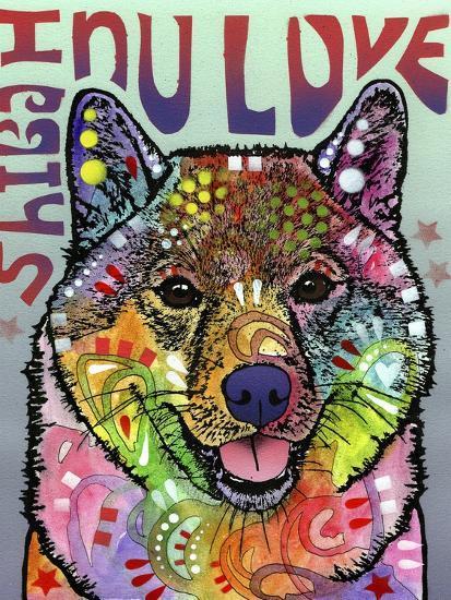 Shiba Inu Luv-Dean Russo-Giclee Print