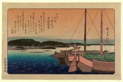 Shibaura No Seiran-Utagawa Hiroshige-Giclee Print