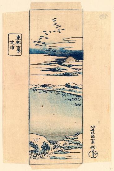 Shibaura-Katsushika Hokusai-Giclee Print