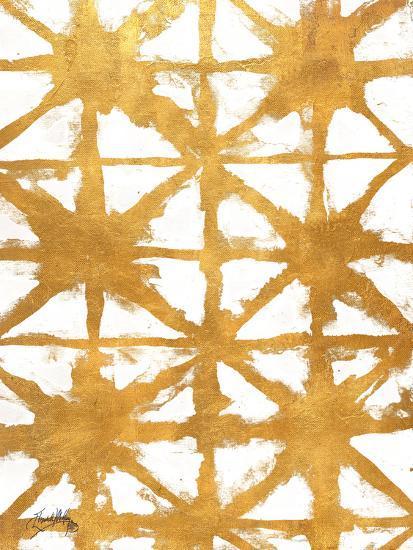 Shibori Gold IV-Elizabeth Medley-Art Print