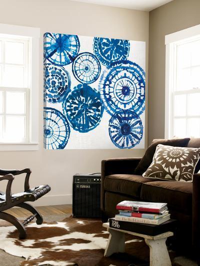 Shibori Rings I-Aimee Wilson-Loft Art