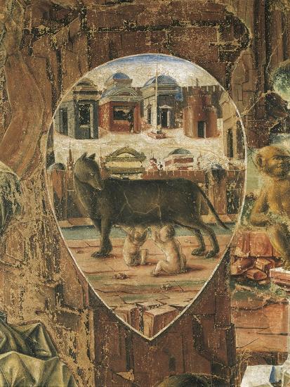 Shield Depicting Romulus--Giclee Print