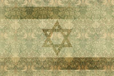 Shield of David in Hazel and Green