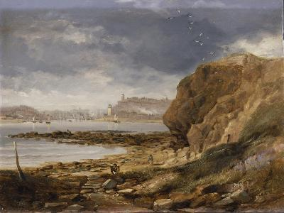 Shields from the Harbour Mouth, 1845-John Wilson Carmichael-Giclee Print