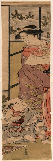 Shigenoi Kowakare-Utagawa Toyokuni-Giclee Print