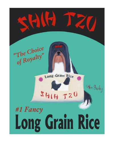 Shih Tzu-Ken Bailey-Collectable Print