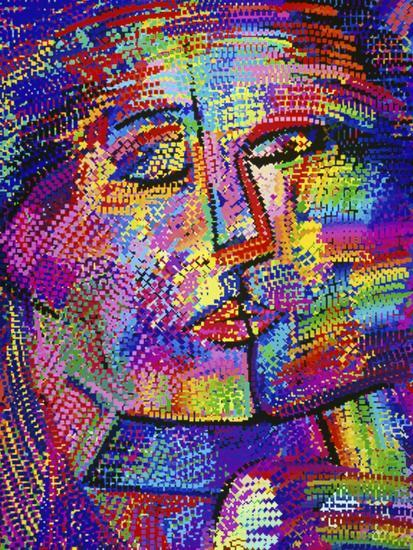 Shimmering Face-Diana Ong-Giclee Print