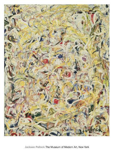 Shimmering Substance, c.1946-Jackson Pollock-Art Print