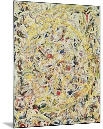 Shimmering Substance, c.1946-Jackson Pollock-Mounted Print