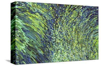 Shimmering Waterfall-Margaret Juul-Stretched Canvas Print