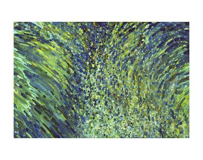 Shimmering Waterfall-Margaret Juul-Art Print
