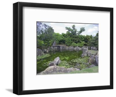 Japanese Garden of Nijo Castle, Kyoto, Japan