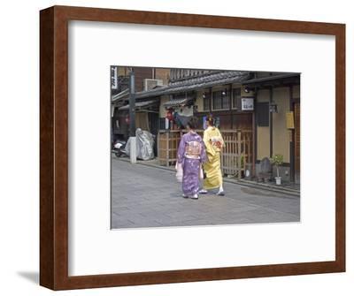 Kimono Beauty, Kyoto, Japan