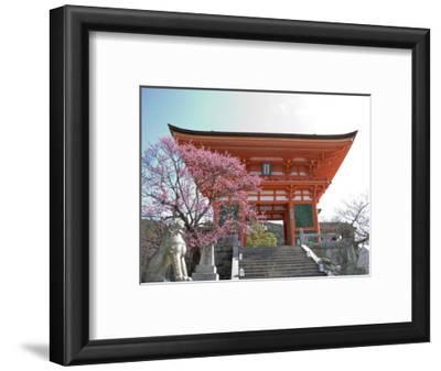 Soaring Gate of Temple, Kyoto, Japan