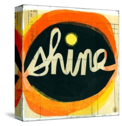 Shine Lettering in Orange Circle