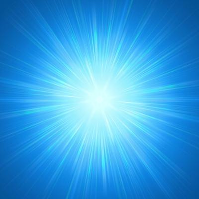 Shining Blue Lights-marinini-Art Print