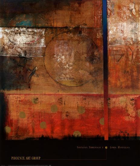 Shining Through I-John Douglas-Art Print