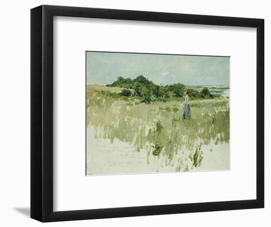 Shinnecock Hills (A View of Shinnecock), 1891-William Merritt Chase-Framed Premium Giclee Print
