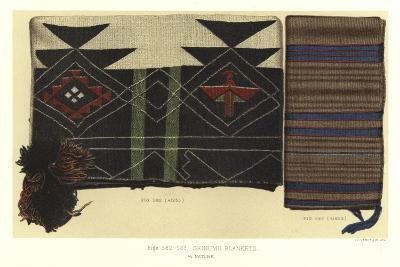 Shinumo Blankets--Giclee Print