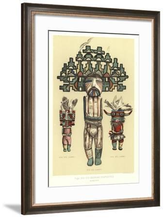 Shinumo Statuettes--Framed Giclee Print