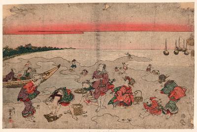 Shiohigari--Giclee Print