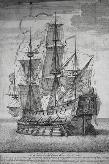 Ship Camel System Which Allowed Large Ships to Cross Shallow Banks--Giclee Print