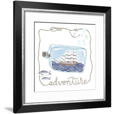 Ship in a Bottle Adventure-Sara Zieve Miller-Framed Art Print