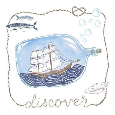 Ship in a Bottle Discover-Sara Zieve Miller-Art Print