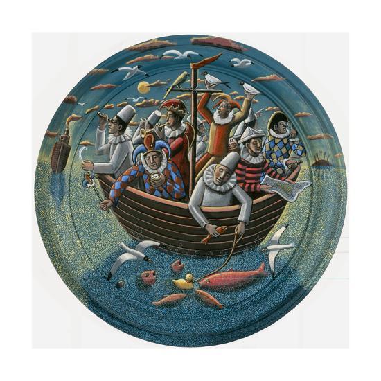 Ship of Fools, 2015-PJ Crook-Giclee Print