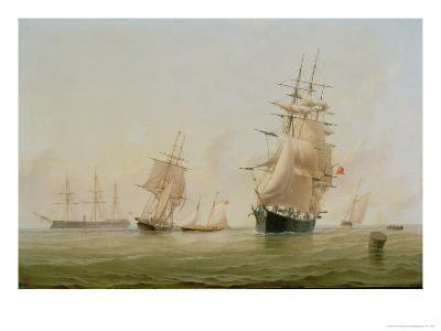Ship Painting-William Frederick Settle-Giclee Print