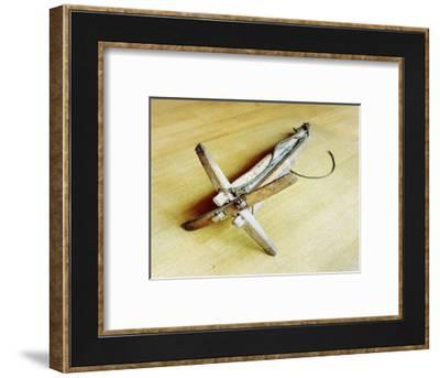 Ship' s anchor-Werner Forman-Framed Giclee Print
