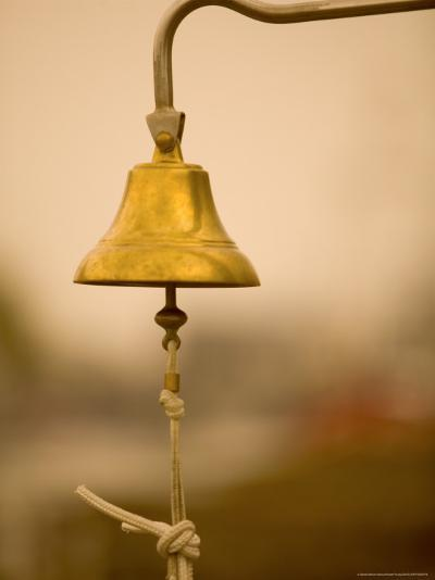 Ship's Bell, Warnemunde, Germany-Russell Young-Photographic Print