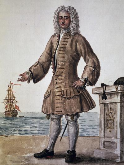 Ship's Captain of the Venetian Republic--Giclee Print