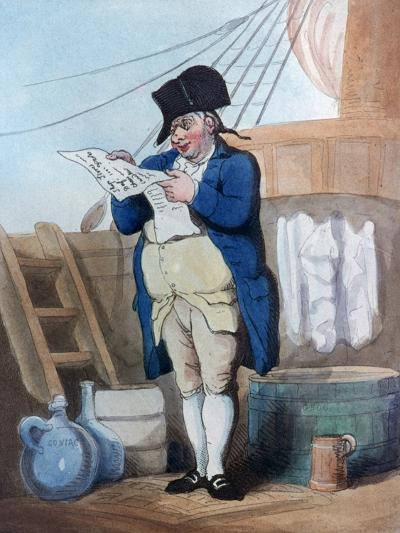 Ship's Stores Clerk, 1799-Thomas Rowlandson-Giclee Print