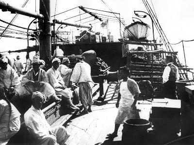 Ship, Shanghai, China, 1900--Giclee Print