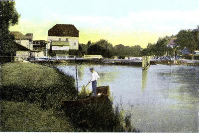 Shiplake, Oxfordshire, 20th Century--Giclee Print