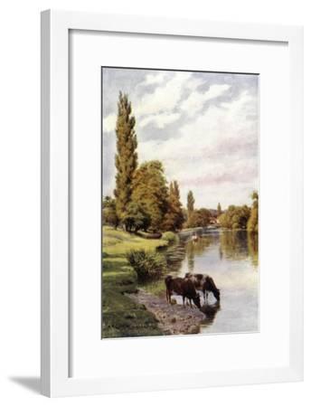 Shiplake-Alfred Robert Quinton-Framed Giclee Print