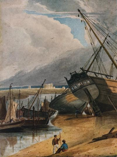 Shipping at Deal, 1925-Francois Louis Thomas Francia-Giclee Print