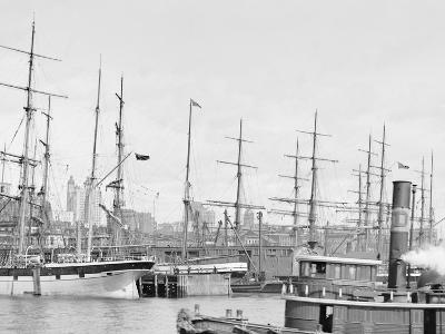Shipping at East River Docks, New York--Photo