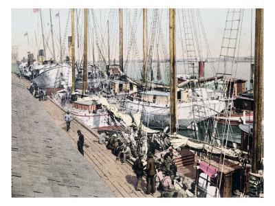 Shipping at Mobile Alabama--Giclee Print
