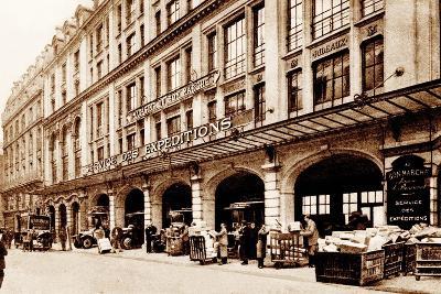 Shipping Department, Le Bon Marché, Paris, 1900--Photographic Print