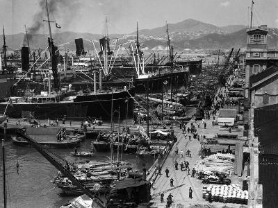 Shipping Docks, Kowloon, Hong Kong-H^ Armstrong Roberts-Photographic Print