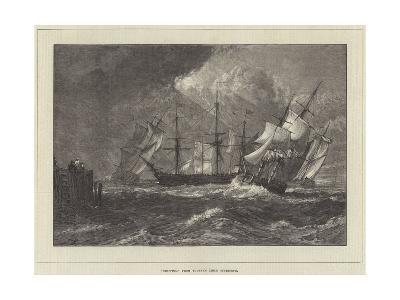 Shipping, from Turner's Liber Studiorum-J^ M^ W^ Turner-Giclee Print