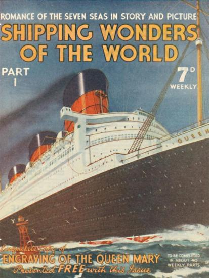 'Shipping Wonders of the World Part I advertisement', 1935-Unknown-Giclee Print