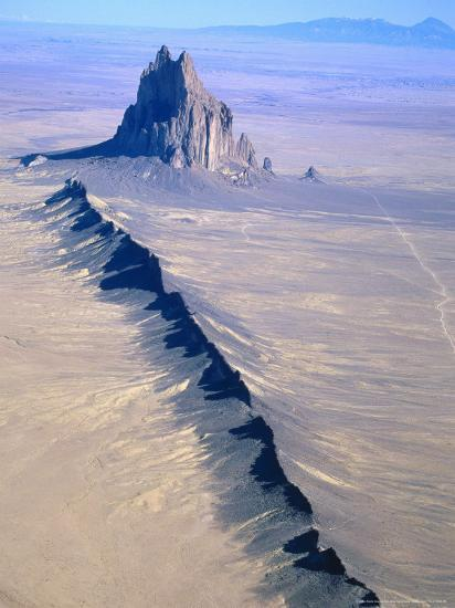 Shiprock, Northwest New Mexico-Amy And Chuck Wiley/wales-Photographic Print
